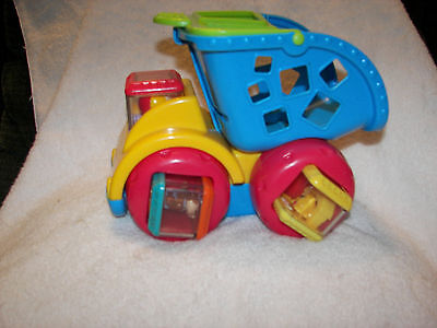 Peek a Block Dump Truck  4 Peek-A-Blocks Fisher Price  sonuds and music  great