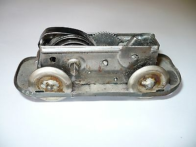 wind up toy part drive chassis bus car tinplate tin  Technofix Blech Fahrgestell