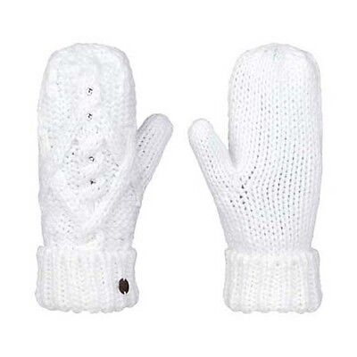 Roxy Shooting Star Mitt One Size Bright White Guantes