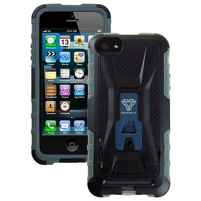 Armor-x Cases Rugged Case For Iphone 5 With Kickstand  Black Photo video