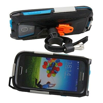 Armor-x Cases All Weather Bike Mount For Samsung S3 / S4 Black   Photo video