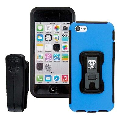 Armor-x Cases Rugged Case For Iphone 5c With X Mount Blue   Foto-vídeo