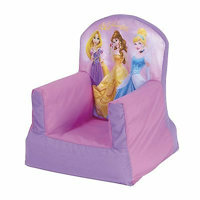 Disney Princess Cosy Chair Kids Bedroom Furniture New Inflatable