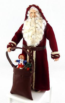 Dolls House Father Christmas Figure Santa Character Falcon Miniature People