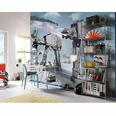 STAR WARS BATTLE OF HOTH WALLPAPER WALL MURAL 3.68m x 2.54m NEW
