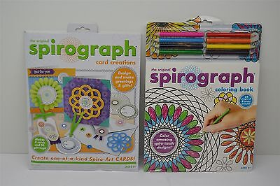 Lot of Spirograph Card Creations & Coloring Book (New) Christmas Stocking Idea