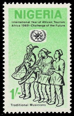 """NIGERIA 233 (SG238) - Year of African Tourism """"Musicians"""" (pa25022)"""