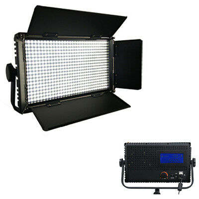 LED576AL-Tageslicht-LED-Studio-Panel Licht LCD Touch Screen 4 Film Video dimmbar