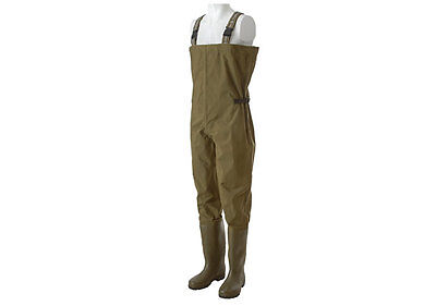 Trakker N2 Chest Waders Waterproof Nylon PVC Fishing Wader NEW *All Sizes*
