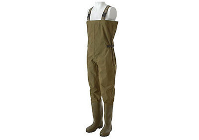 Trakker NEW Carp Fishing Waterproof Nylon PVC N2 Chest Waders *All Sizes*
