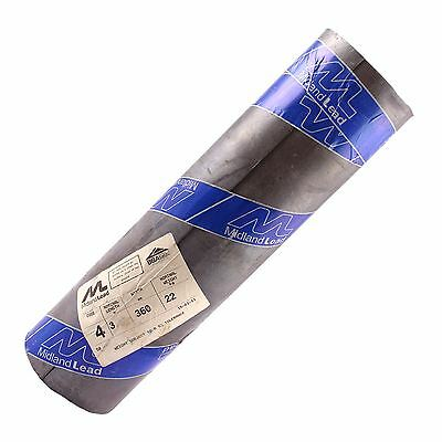 "360mm 14"" inch Code 4 Lead Flashing Roll Roof Roofing Repair Midland Lead"