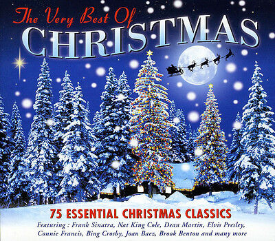 Very Best Of Christmas 75 ESSENTIAL CLASSIC SONGS Holiday Music NEW SEALED 3 CD