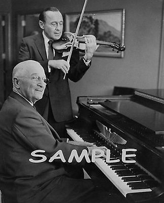 PRESIDENT HARRY TRUMAN with JACK BENNY Photo