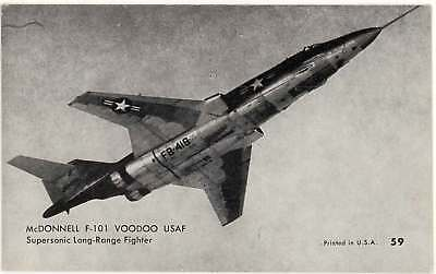McDonnell F-101 Voodoo USAF Supersonic Fighter