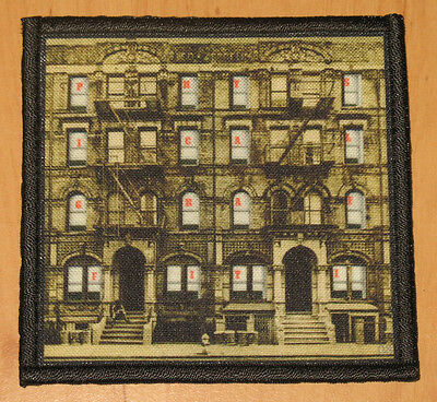 "LED ZEPPELIN ""PHYSICAL GRAFFITI"" silk screen PATCH"