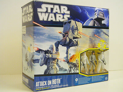 Star Wars 2010 Target Exclusive Attack on Hoth Set! Rare! MIB!