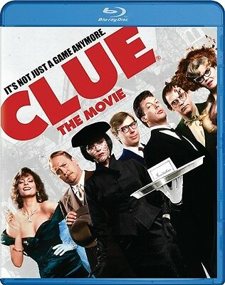 CLUE THE MOVIE New Sealed Blu-ray