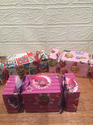Trolls ,Paw Patrol,Shopkins, Christmas cracker fill your own gift box