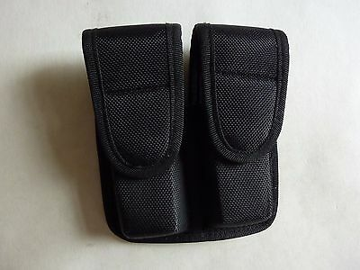 Police Double Molded Nylon Mag holder Pouch Black