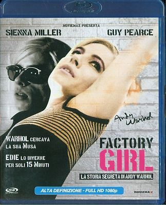 Factory Girl - Guy Pearce/Sienna Miller Blu Ray Perfetto