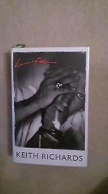 Keith Richards Rolling Stones  Signed Book Not Autopen