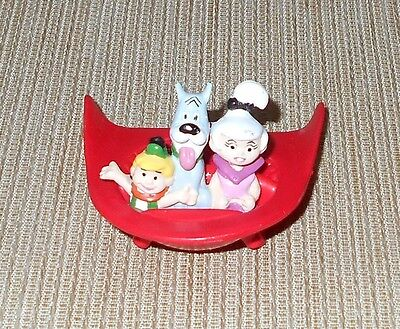 The Jetsons Movie Promo Toy with Judy, Elroy & Astro in Spaceship, Applause 1990