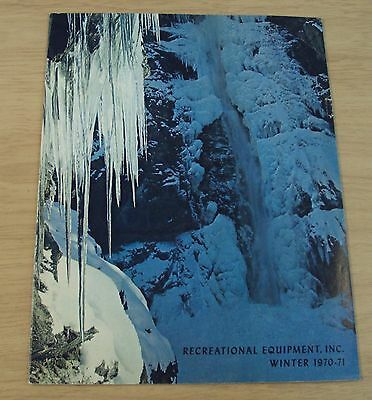 "RARE 1970-71 REI Outdoor Catalog~""RECREATIONAL EQUIPMENT INC""~Seattle WA"