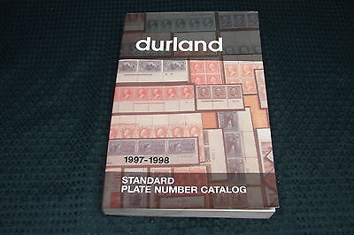 OPC 1997-1998 Durland Standard Plate Number Catalog 382 pgs