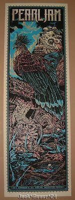 Ken Taylor Pearl Jam Mexico City Poster Print Artist Edition Numbered AP Art