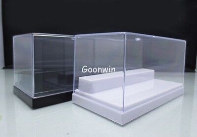 Clear Acrylic Stairs Display Case Transparent Multi-use Dustproof Box 15x8x8cm