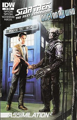 Star Trek The Next Generation / Doctor Who: Assimilation² No.6 / 2012