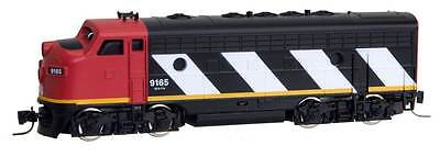 Z Scale Locomotive Canadian National F7A Road #9171 MTL #98001193