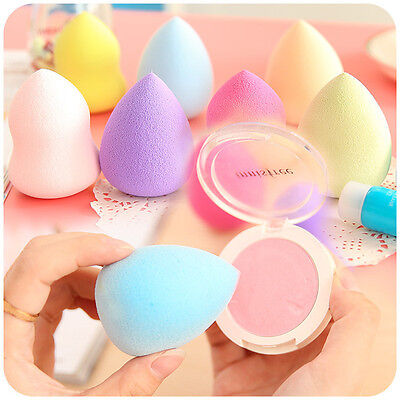 Hot Cute Makeup Sponge Blender Foundation Flawless Powder Smooth Pretty Puff Lot