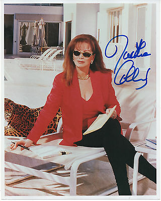 JACKIE COLLINS HAND SIGNED AUTOGRAPHED 8x10 PHOTO
