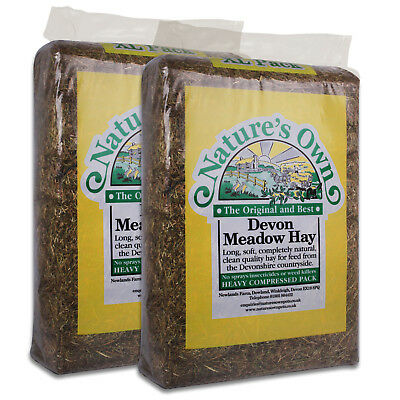 Nature's Own Pet Hay Meadow Hay Bedding Feed for Rabbits Guinea Pigs 2kg-16kg