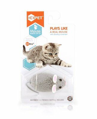 Hexbug Mouse Robotic Cat Toy - Battery Operated