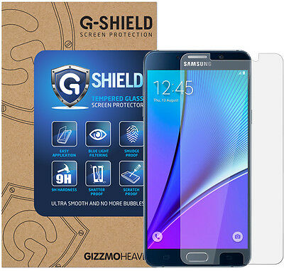Genuine G-Shield® Tempered Glass Film Screen Protector For Samsung Galaxy Note 5
