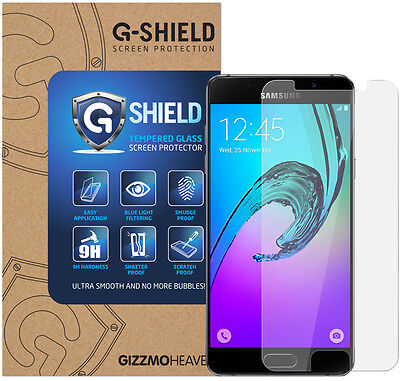 Genuine G-Shield Tempered Glass Film Screen Protector For Samsung Galaxy A5 2016