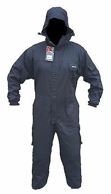 New Keela Ex Police Black Tactical Overall Coverall Paintballing Workwear