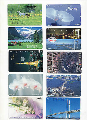 Japan.20 Different Used/expired  Japanese Phonecards