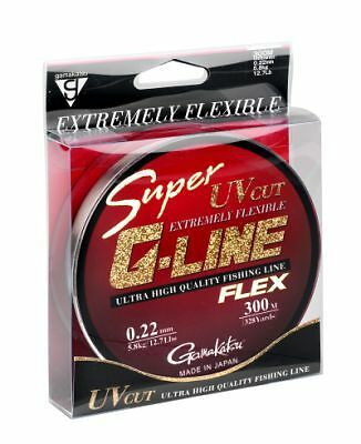 Gamakatsu Super G-Line Flex 0.20mm 300m monofile Schnur