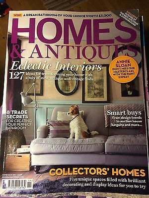 Homes and Antiques house/lifestyle/interiors magazine, November 2014