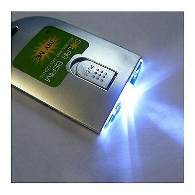 Solar Beam - solar powered pocket LED torch. WAS €7.08 - NOW €5.95