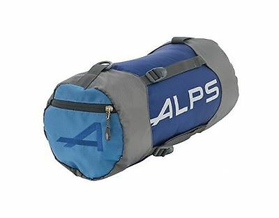"""New Alps Mountaineering Compression Stuff Sack XL 12""""x25"""" Blue 7460003"""
