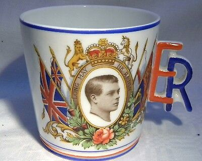 Cws Windsor China Edward Viii Coronation Mug Er Handle