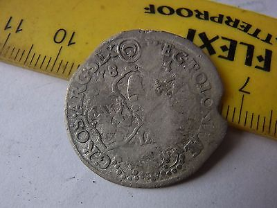 6 grosch Old Poland silver coin