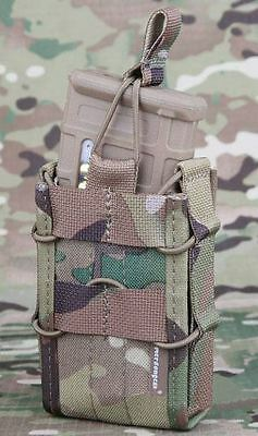 AIRSOFT TACO SINGLE MAGAZINE POUCH FITS 1x RIFLE MAG MULTICAM MTP M SERIES