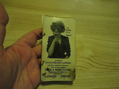 EAGLE BRAND Candies Frank Menne Factory Louisville KY Advertising Antique HH