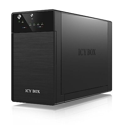 Icy Box IB-3620U3 External 2 Bay JBOD System for 3.5 inch SA... EXPRESS DELIVERY