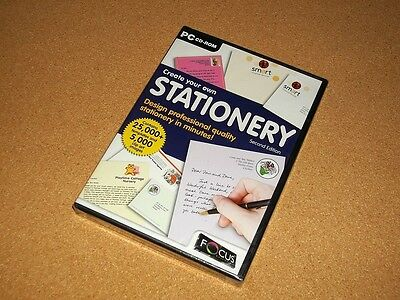 Create Your Own Stationery - Second Edition - Pc Cdrom  New & Sealed
